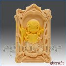 2D Leo Pray Angel Girl of Compassion Silicone Mold