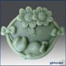 Silicone Soap Mold -  Happy Hedgehog