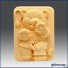 Silicone Soap Mold – Tae Kwon Do Bear