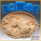 2D Silicone Soap/sugar craft/fondant/chocolate Mold-Thanksgiving Turkey Platter
