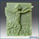Silicone Soap Mold – Adelaide- Fairy of the Meadows