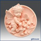2D Silicone Soap Mold - Fairy Girl Lilybell