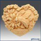 Silicone Soap Mold – Garden Bee