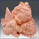 2D silicone Soap/Guest/polymer/clay/coldporcelain mold-Valentine Angel Girl set2