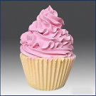 Ice Cream Cup Cake - 3D Silicone Soap/Candle Mold