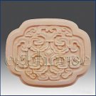 2D silicone Soap/polymer/clay/cold porcelain mold - Oriental Elegance