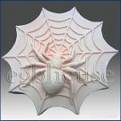 2D silicone Soap/polymer/clay/cold porcelain mold - Spider on Web