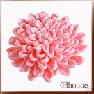 Chrysanthemum-3D silicone Soap/polymer/clay/plaster mold