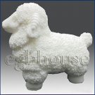3D silicone Soap/polymer/clay/cold porcelain/candle mold- Sheep no. 2