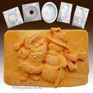 Santa and the Snowman - silicone Soap/sugar/fondant/chocolate/Marzipan 2D mold