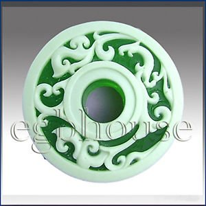 Phoenix pendent design - Detail of high relief sculpture - Soap silicone mold
