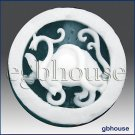 2D silicone Soap/polymer/clay/cold porcelain mold - Turtle - Feng Shui design