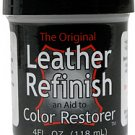 Black - Leather Refinish an Aid to Color Restorer - Repair Restoration