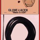"3/16"" BLACK BASEBALL GLOVE LACE REPAIR kit/ laces"