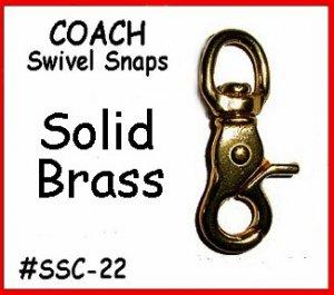2 Swivel Snap Official COACH HANDBAG PURSE Replacement