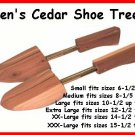 Just$9.99pr (4prs) Mens LARGE CEDAR SHOE Tree Stretcher
