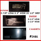 2 – JUMBO Magnetic Key Box Don't be without a SPARE Key