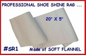2 Professional Shoe Shine Rags for your Shine Kit BOX!