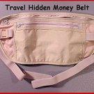 2 - Travelers Hidden Passport Money Belt Body Security