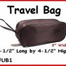 BLACK - Travel bag or shaving kit or makeup kit.