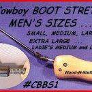 X-LG. Western COWBOY BOOT SHOE STRETCHER Men FREEstuff
