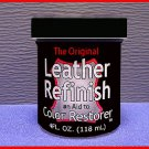 BLk LEATHER Refinish an Aid to RESTORER Color worn Item