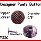 2 Copper Dots BIB Button for Vest PANTS Jeans OVERALLS