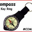Compass KEY RING Key CHAIN Key Fob FREESHIP