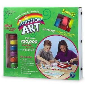 Rainbow Art Kit - Large Green Bonus Box 00336