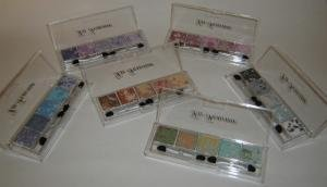 La Femme Glitter Eye Shadow. Tray One
