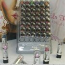 La Femme Silver Cap Lipstick Tray #1