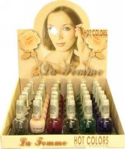 La Femme Hot Color Nail Polish Tray #2