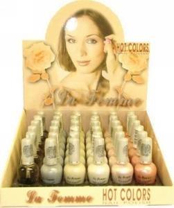 La Femme Hot Color Nail Polish Tray #3