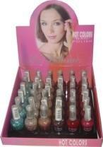 La Femme Hot Color Nail Polish Tray #7