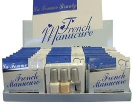 La Femme French Manicure Blue Set