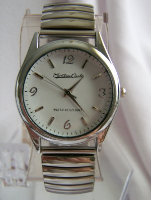Men watch w/white face