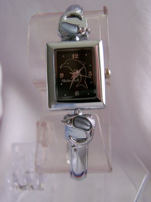 Women watch w/ dolphin designs