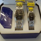 Pierre Jardin His & Her Quartz Watch Gift Set