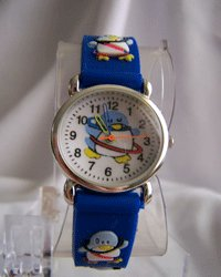 Childrens Penguin Design Watch