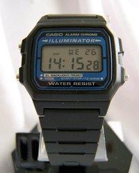 Casio Men's Black Digital Illuminator Watch