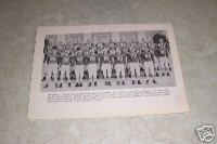 UNIVERSITY OF MARYLAND 1953 FOOTBALL TEAM PHOTO