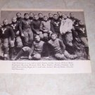 YALE UNIVERSTIY 1902 FOOTBALL TEAM PHOTO T
