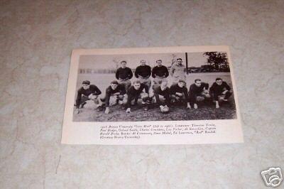 BROWN UNIVERSITY IRON MEN 1926 FOOTBALL TEAM PHOTO