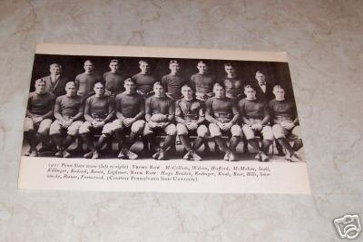 PENN STATE 1921 FOOTBALL TEAM PHOTO