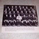 PRINCETON UNIVERSITY 1935 FOOTBALL TEAM PHOTO