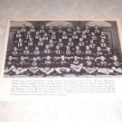 U.S. NAVAL ACADEMY 1954 FOOTBALL TEAM PHOTO