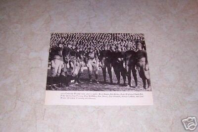 UNIVERSITY OF CALIFORNIA 1920 FOOTBALL TEAM PHOTO