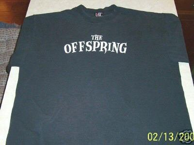 OFFSPRING IXNAY ON THE HOMBRE BLACK T-SHIRT XL