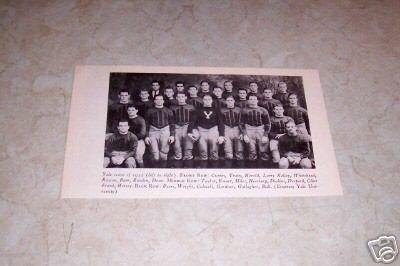 YALE UNIVERSITY 1935 FOOTBALL TEAM PHOTO