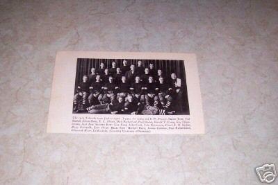 UNIVERSITY OF NEBRASKA 1914 FOOTBALL TEAM PHOTO